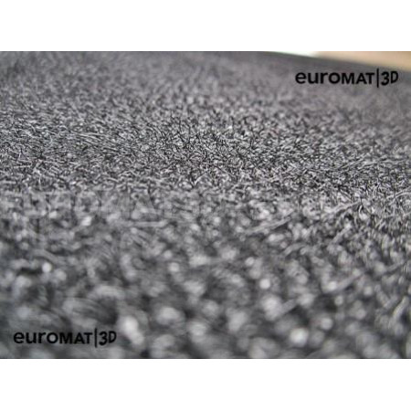 Текстильные 3D коврики Euromat3D Lux в салон для Volkswagen Tiguan (2017-) (Укороченная) № EM3D-005415.1