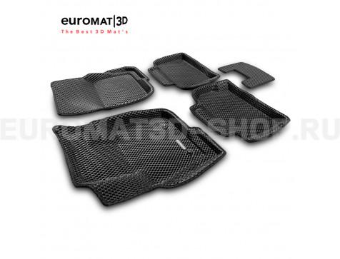 3D коврики Euromat3D EVA в салон для Ford Mondeo (2015-) № EM3DEVA-002216